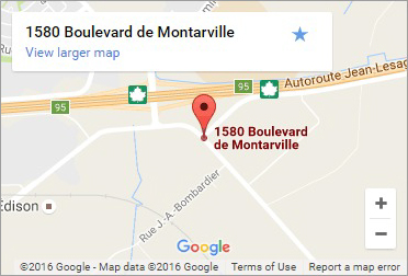 Map Robert Bernard Boucherville